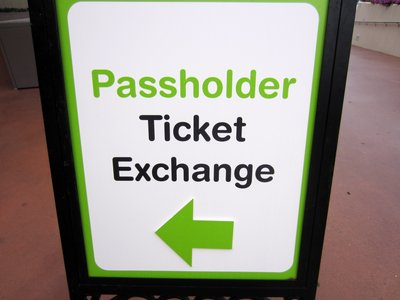 The Odyssey Center in Epcot is ready for convert passholders to the new RFID cards.