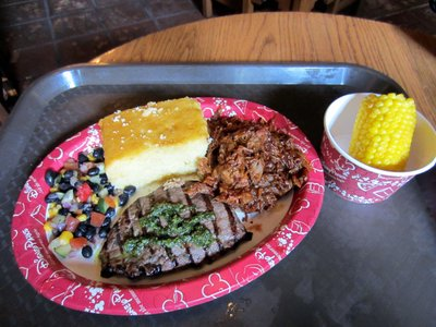 Pecos Bills Steak And Pork Meal