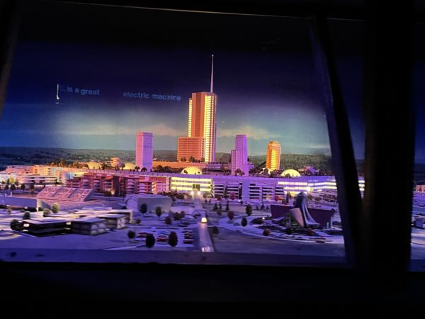 It's Progress City, Walt's city of tomorrow. Very cool.