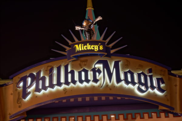 The Top Six Reasons to visit Mickey's Philharmagic.