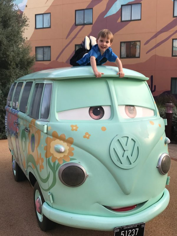 Filmore, the VW bus, is really cool!