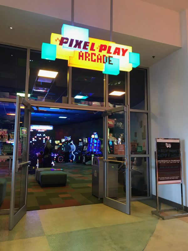 Pixel Play Arcade is lots of fun!