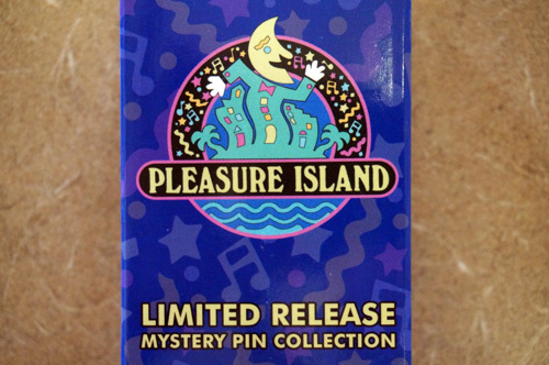 The winner will get three Limited Edition mystery pins celebrating Pleasure Island.