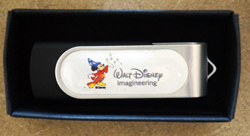 Disney Imagineering USB drive.