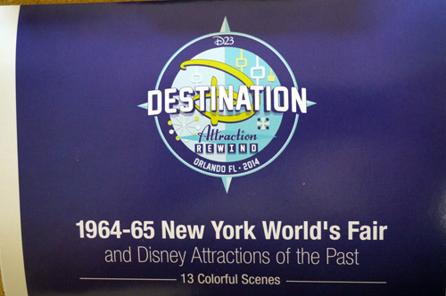 Fun photos from Attraction Rewind and Disney's work at the 1964 World's Fair.