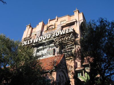 The Tower Of Terror looms large.