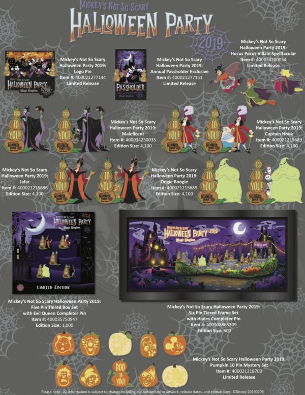Check out these cool Mickey's Not So Scary Halloween Party Pins!