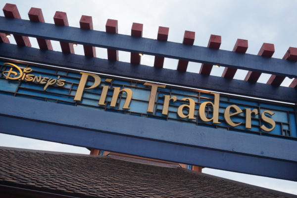 Disney Pin Traders in Disney Springs has a ton of pins and lots of variety!
