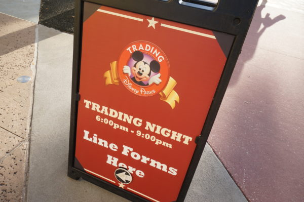 Disney schedules occasional Pin Trading Nights.