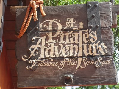 Pirates Adventure Sign