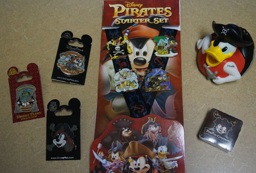 A complete prize pack for pirate fans.