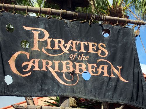 Welcome to Pirates of the Caribbean!