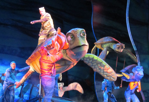 The Finding Nemo musical is awesome dude!
