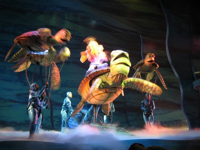 Finding Nemo The Musical is a crowd-pleasing Broadway-styled show.