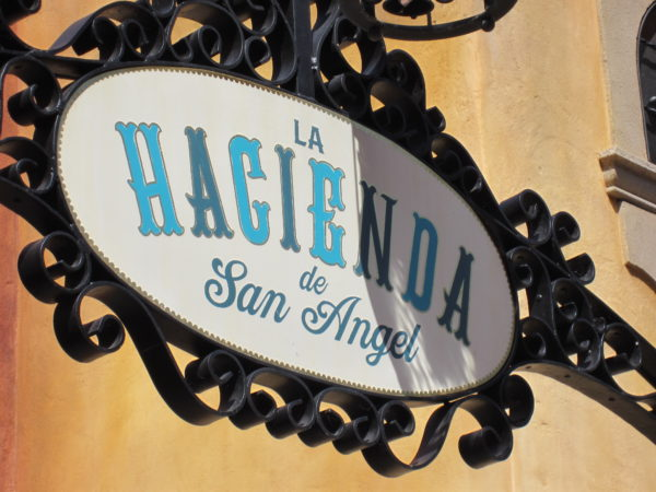 La Hacienda de San Angel is the second table-service restaurant in Mexico.