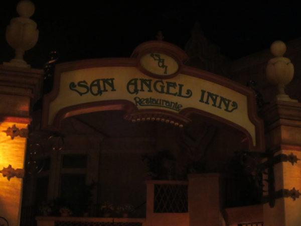 San Angel Inn is inside the perpetually twilit pyramid.
