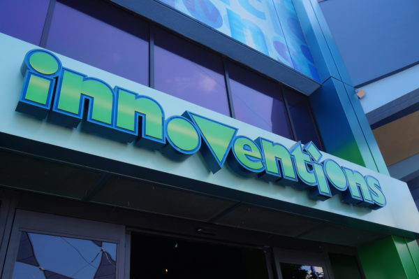 Innoventions isn't so innovative anymore; it's usually almost empty.