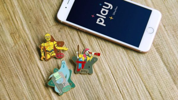 Disney releases three new achievement pins for the Play Disney Parks app! Photo credits (C) Disney Enterprises, Inc. All Rights Reserved
