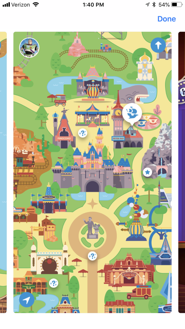 The new Play Disney Parks app has a cool retro vibe!