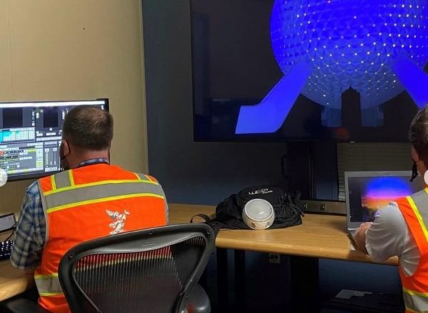 Disney Imagineers can visualize their designs virtually. Photo credits (C) Disney Enterprises, Inc. All Rights Reserved