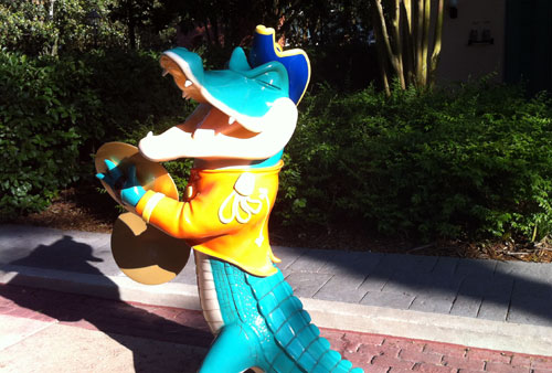 Party like a Louisiana gator at Disney's Port Orleans.