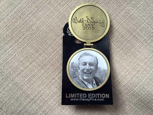 Limited Edition Walt Disney Day 2015.