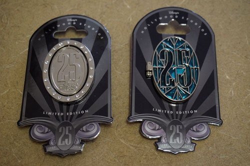 Two beautiful limited edition pins celebrate the 25th anniversary of Disney's Hollywood Studios.