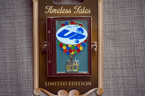 Timeless Tales Limited Edition pin celebrating the movie Up.