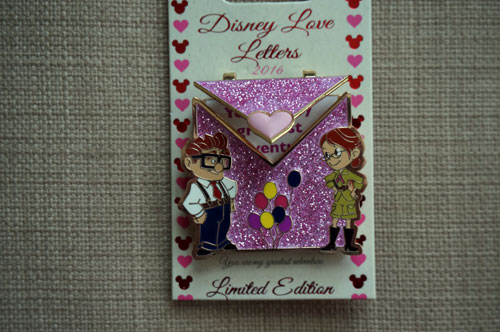 Disney Love Letters - Limited Edition - celebrating Up.
