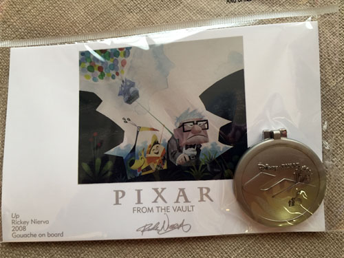 Pixar From the Vault: The Up emblem.