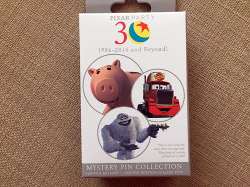 Mystery Pin Collection box. Who knows what you'll get?!