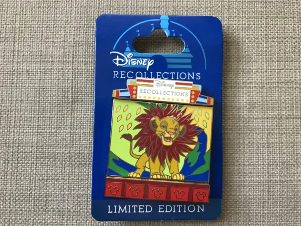 Limited Edition Disney Recollections Simba Pin.