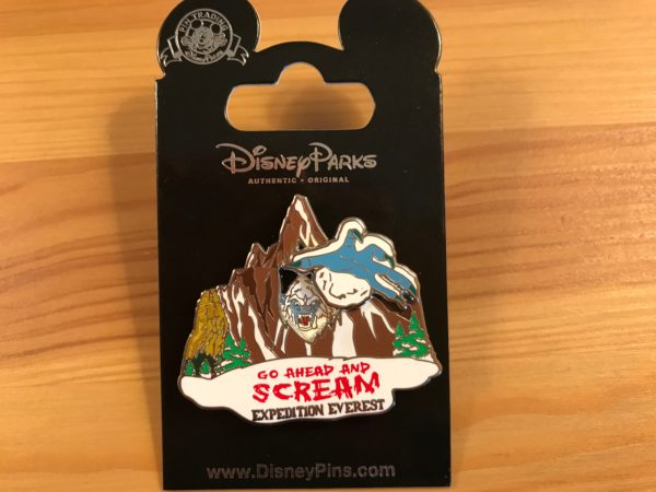 It's ok to scream! The Yeti doesn't care.