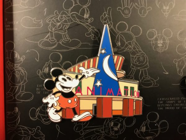 Here's Mickey showing off his Animation studio!