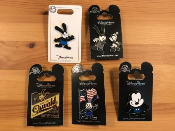 Check out these awesome Oswald pins!