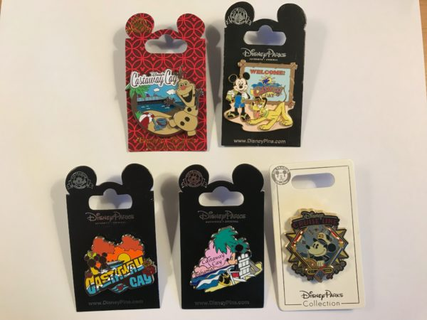 You could win these pins from Disney Cruise Line!