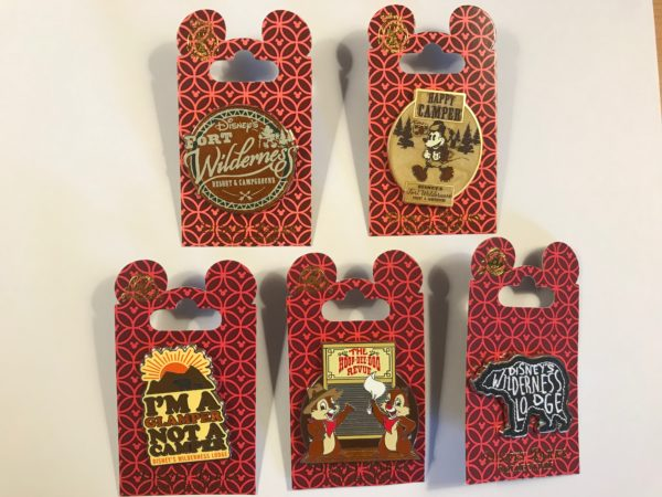 You could win these Fort Wilderness pins this month!