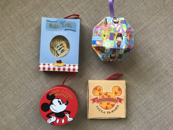 Here are just four of the many designs of pin box ornaments.