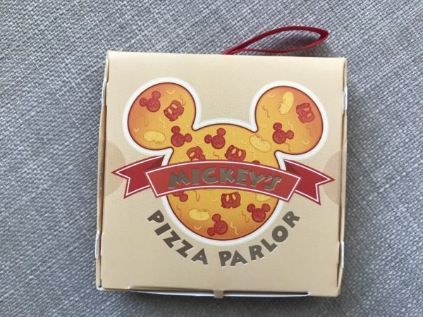 Pizza anyone? This box is shaped like a pizza box!