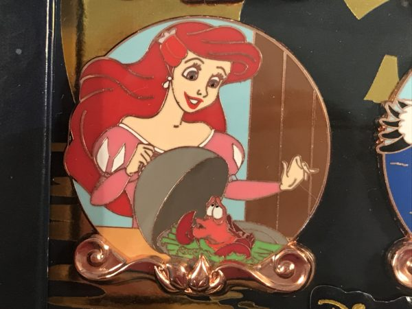 Sebastian tried to save Ariel on land and convince her to come back to the sea!