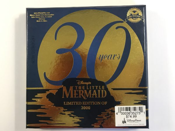 This set celebrates the 30-year anniversary of The Little Mermaid.