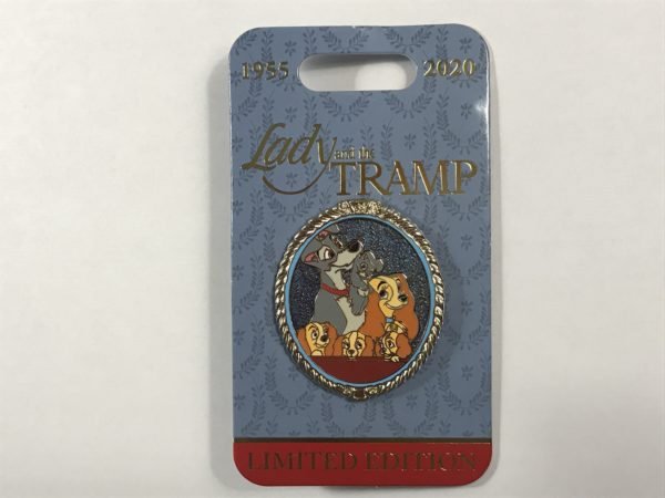 This pin shows a family portrait of Lady, Tramp, and their puppies!