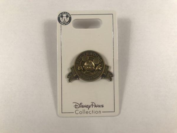 Here's an official Disney Parks Pin Trading pin!