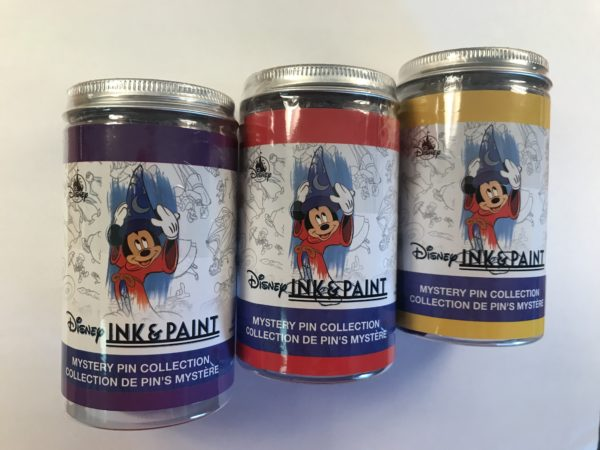 Check out these cool Disney Ink & Paint mystery pin collections!