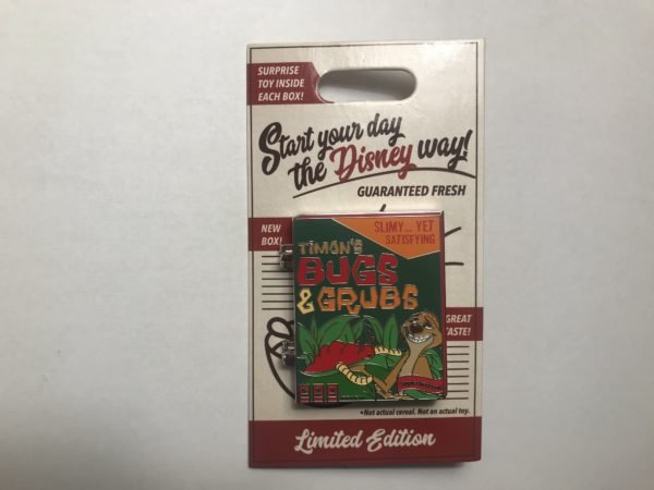 This pin features Timon, our favorite bug and grub eater.