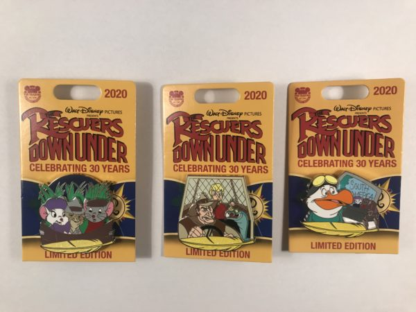 Limited edition Rescuers Down Under pins!