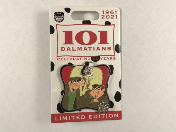 Every good movie has some good villains! 101 Dalmatians has Cruella, Jasper, and Horace.
