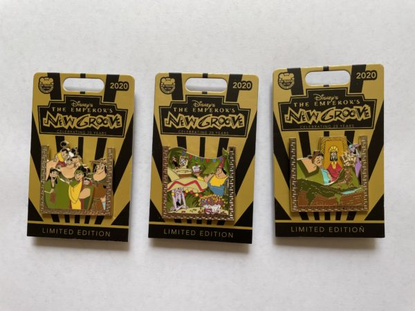 Check out these Emperor's New Groove pins!