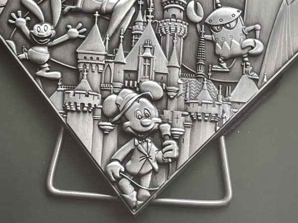 The detail in the pin is amazing. Check out Mickey!