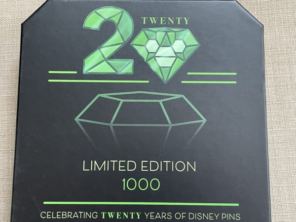 Disney made only 1,000 of these limited edition jumbo pins.